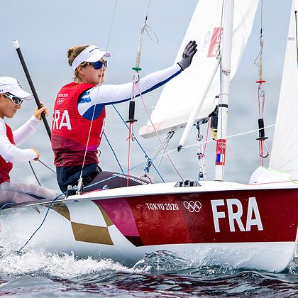 Französinnen gewinnen Bronze im 470er